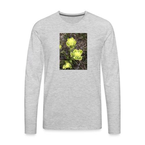Rocky Mountain flowers - Men's Premium Long Sleeve T-Shirt