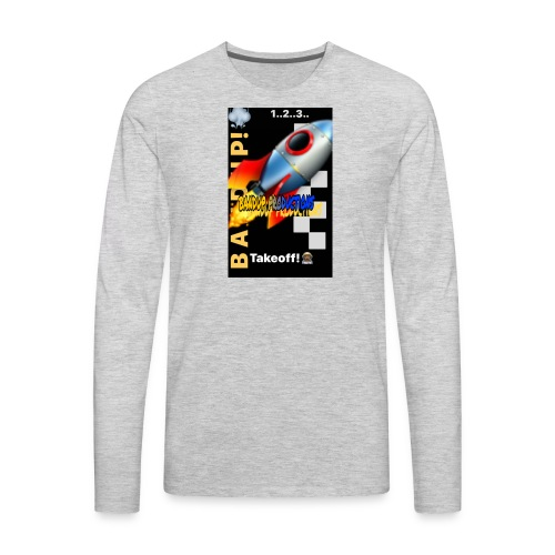bandup - Men's Premium Long Sleeve T-Shirt