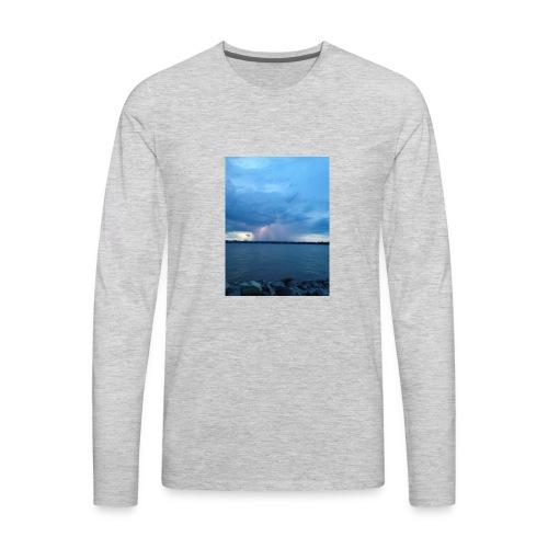 Storm Fall - Men's Premium Long Sleeve T-Shirt