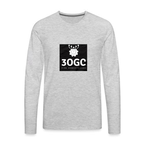 3OGC PUBG mobile - Men's Premium Long Sleeve T-Shirt