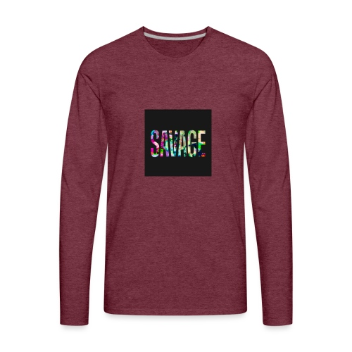Savage Wear - Men's Premium Long Sleeve T-Shirt