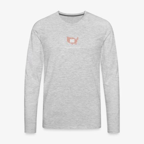 INC Color TransparentBG Red White V - Men's Premium Long Sleeve T-Shirt