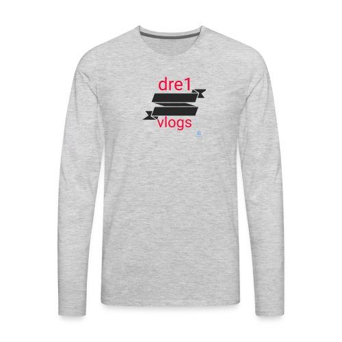 Dre1 vlogs - Men's Premium Long Sleeve T-Shirt