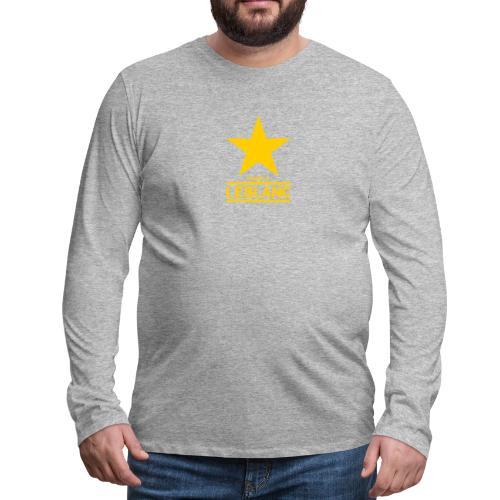 The White - Men's Premium Long Sleeve T-Shirt