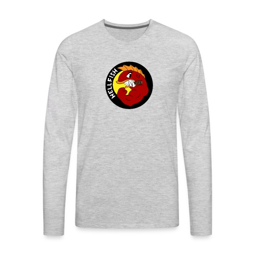 Hellfish - Flying Hellfish - Men's Premium Long Sleeve T-Shirt
