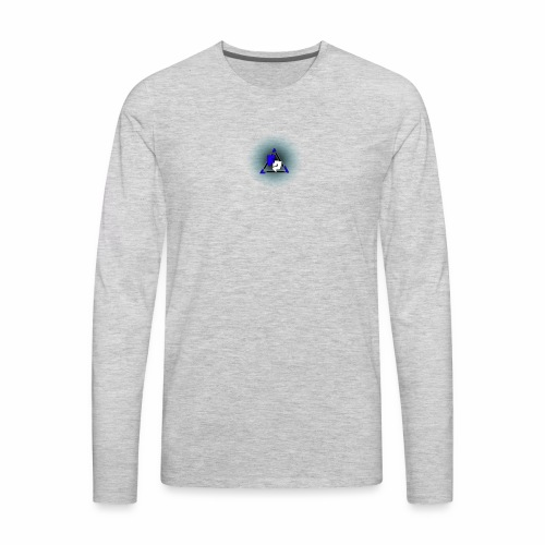 Peak logo tran - Men's Premium Long Sleeve T-Shirt
