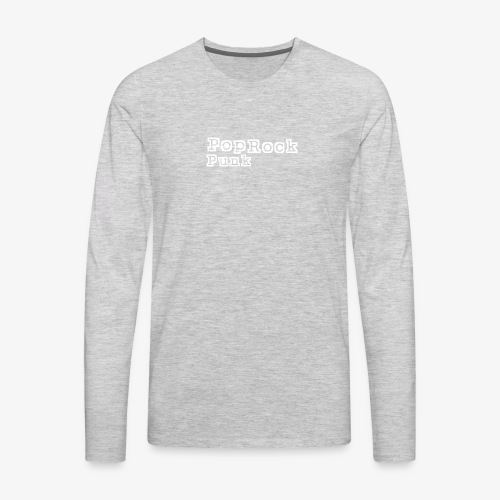 Punk Rock - Men's Premium Long Sleeve T-Shirt