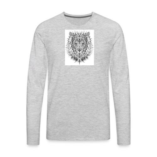 simba - Men's Premium Long Sleeve T-Shirt