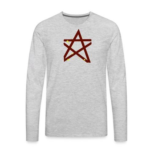 Scary Funny Halloween Costume T Shirt - Men's Premium Long Sleeve T-Shirt