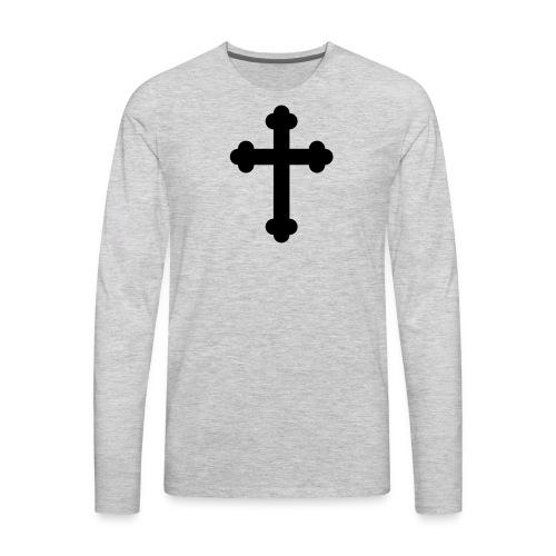 Orthodox Cross - Men's Premium Long Sleeve T-Shirt