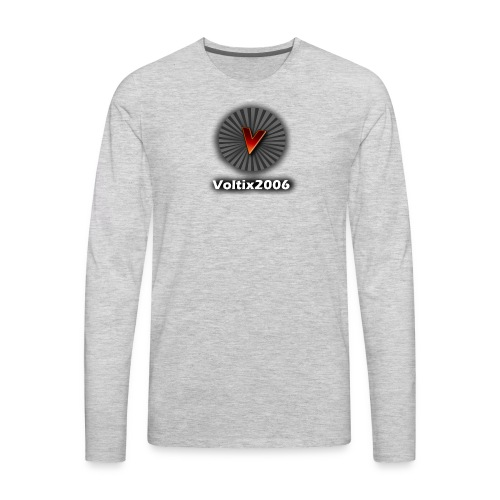 voltix2006 Shirt Logo - Men's Premium Long Sleeve T-Shirt