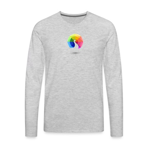 color logo - Men's Premium Long Sleeve T-Shirt