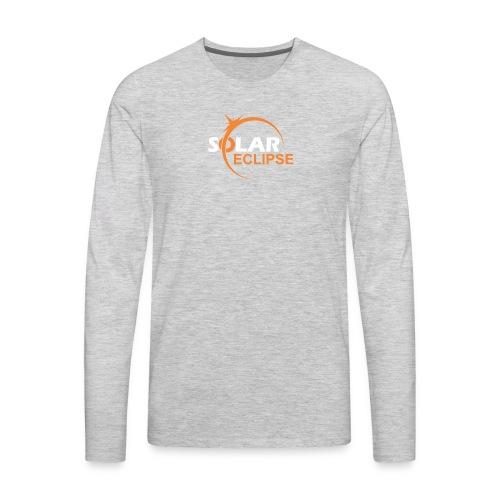 Nebraska Eclipse Tshirts - Nebraska Total Solar Ec - Men's Premium Long Sleeve T-Shirt