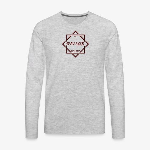Savage Gang - Men's Premium Long Sleeve T-Shirt