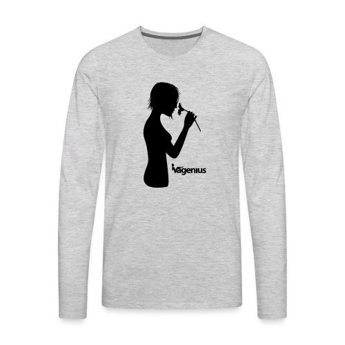 flower girl - Men's Premium Long Sleeve T-Shirt