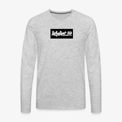 Bethebest332 logo - Men's Premium Long Sleeve T-Shirt