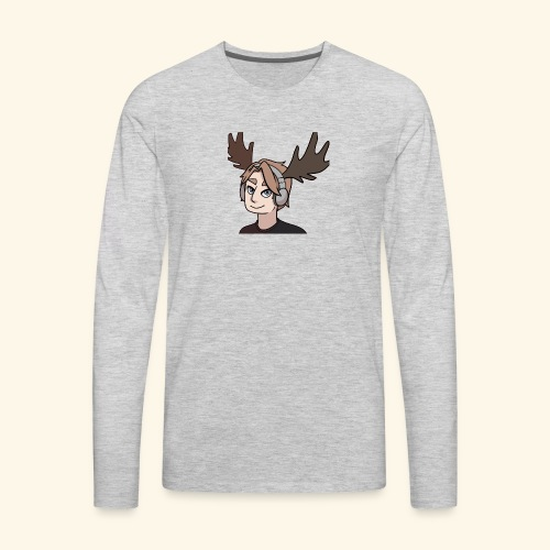 The Moose is on the loose - Men's Premium Long Sleeve T-Shirt