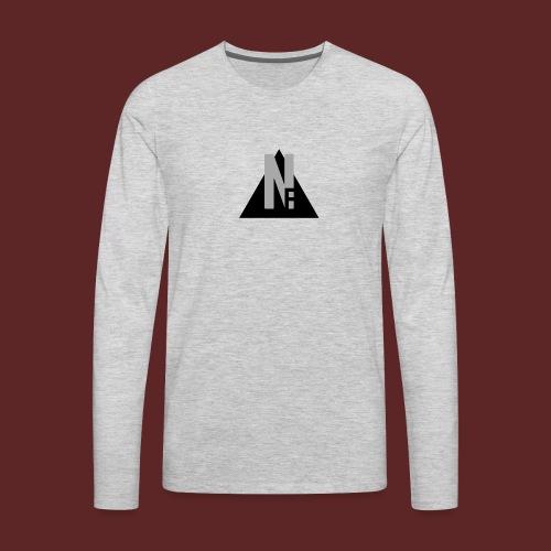 Basic NF Logo - Men's Premium Long Sleeve T-Shirt