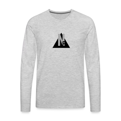 Basic NF Logo - Men's Premium Long Sleeve T-Shirt