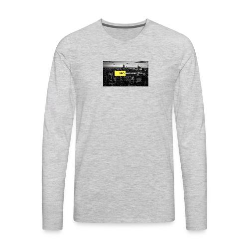 SEOHACKERZ - Men's Premium Long Sleeve T-Shirt
