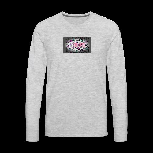 Pink Coffee Logo #1 - Men's Premium Long Sleeve T-Shirt