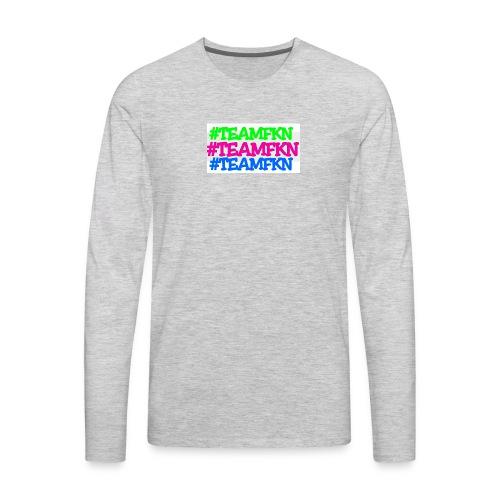 PhotoGrid 1503177395686 - Men's Premium Long Sleeve T-Shirt