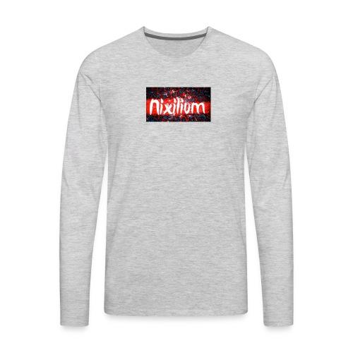 Official Nixilium Logo Shirts - Men's Premium Long Sleeve T-Shirt