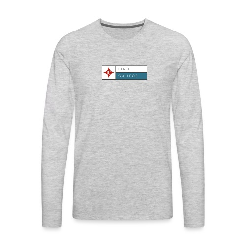Platt College Logo 2000 - Men's Premium Long Sleeve T-Shirt