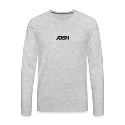 Josh phone case - Men's Premium Long Sleeve T-Shirt