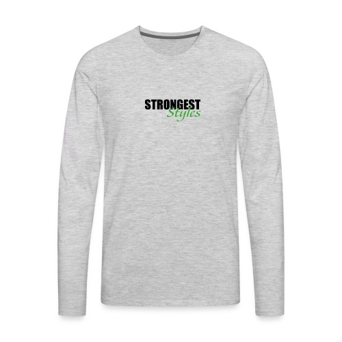 strongest styles 03 - Men's Premium Long Sleeve T-Shirt