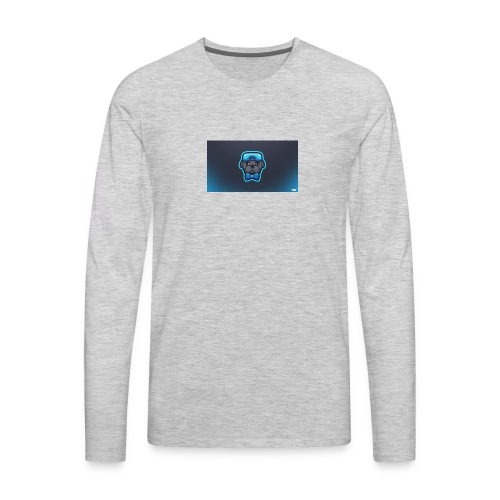 Pug icon - Men's Premium Long Sleeve T-Shirt