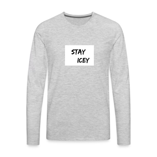 Stay Icey Merch - Men's Premium Long Sleeve T-Shirt