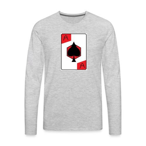 Ace of spades - Men's Premium Long Sleeve T-Shirt