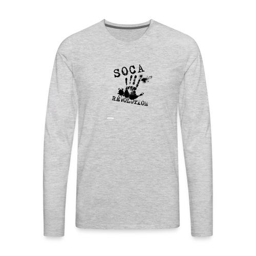 Soca Revolution - Men's Premium Long Sleeve T-Shirt