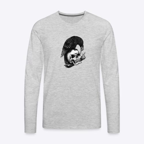 Skull Crow - Men's Premium Long Sleeve T-Shirt