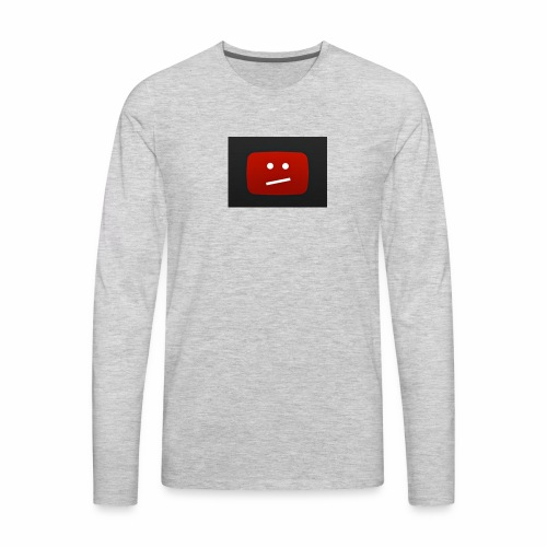 SadYouTube - Men's Premium Long Sleeve T-Shirt