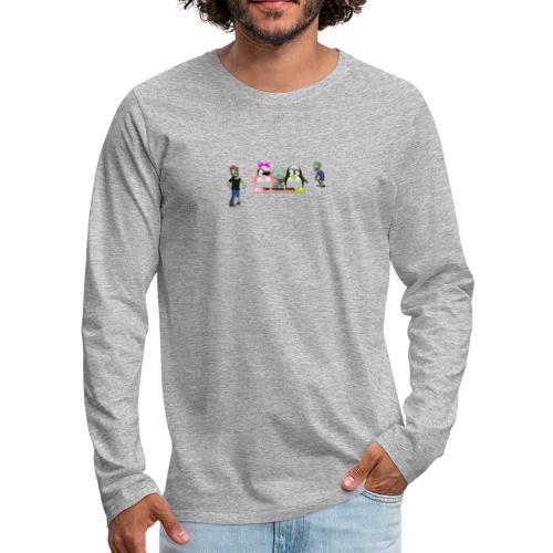 the gangs here - Men's Premium Long Sleeve T-Shirt