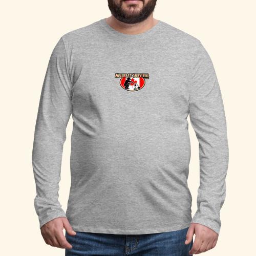 Muskrat Badge 2020 - Men's Premium Long Sleeve T-Shirt