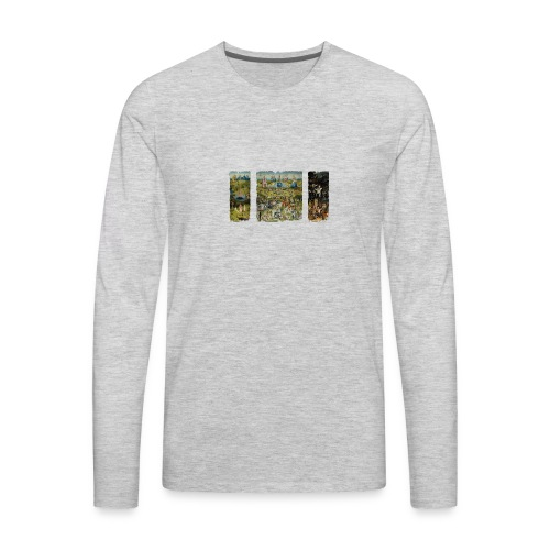 Garden Of Earthly Delights - Men's Premium Long Sleeve T-Shirt