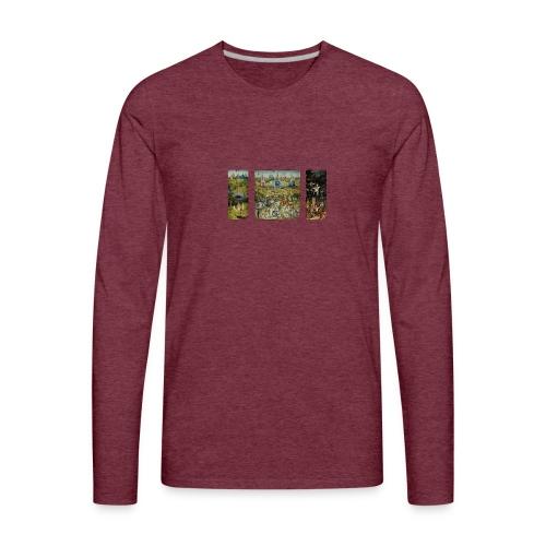 Garden Of Earthly Delights - Men's Premium Long Sleeve T-Shirt