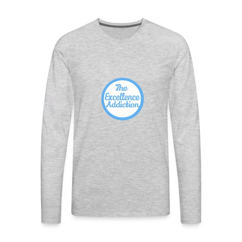 The Excellence Addiction Brand - Men's Premium Long Sleeve T-Shirt