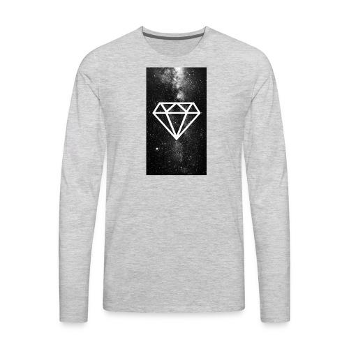 Dimond party - Men's Premium Long Sleeve T-Shirt