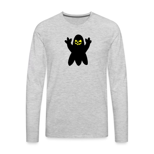 Halloween spook - Men's Premium Long Sleeve T-Shirt
