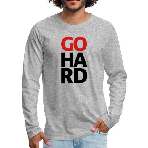 gohard - Men's Premium Long Sleeve T-Shirt