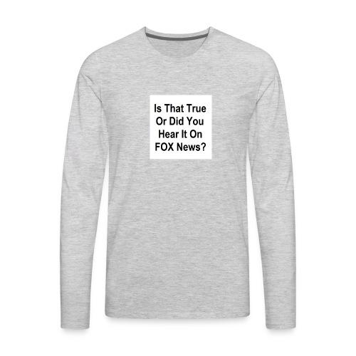 Spread Design 01 - Men's Premium Long Sleeve T-Shirt