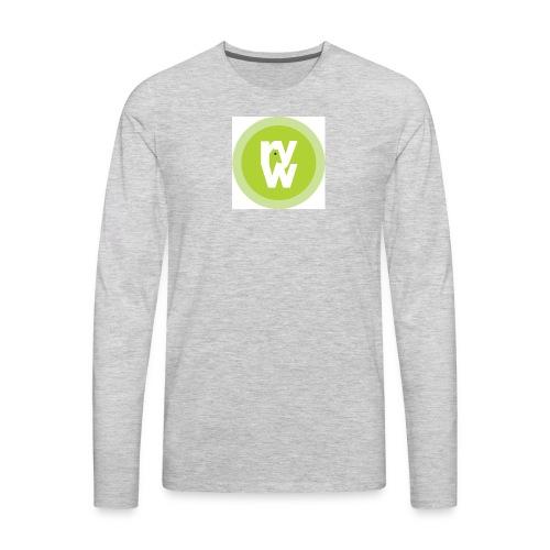 Recover Your Warrior Merch! Walk the talk! - Men's Premium Long Sleeve T-Shirt