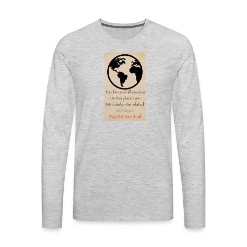 eco not ego - Men's Premium Long Sleeve T-Shirt