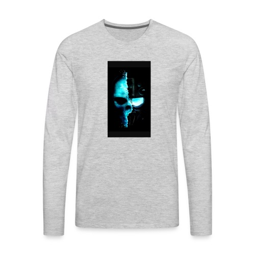 HappyIk logo - Men's Premium Long Sleeve T-Shirt