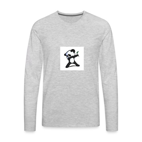 Panda DaB - Men's Premium Long Sleeve T-Shirt
