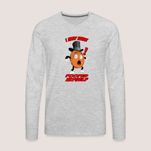 THE POOPED MYSELF PENNY - Men's Premium Long Sleeve T-Shirt